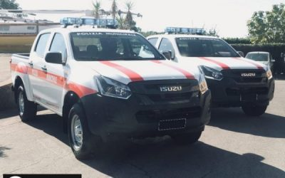 ISUZU D-MAX  POLIZIA MUNICIPALE COMUNE DI GROSSETO