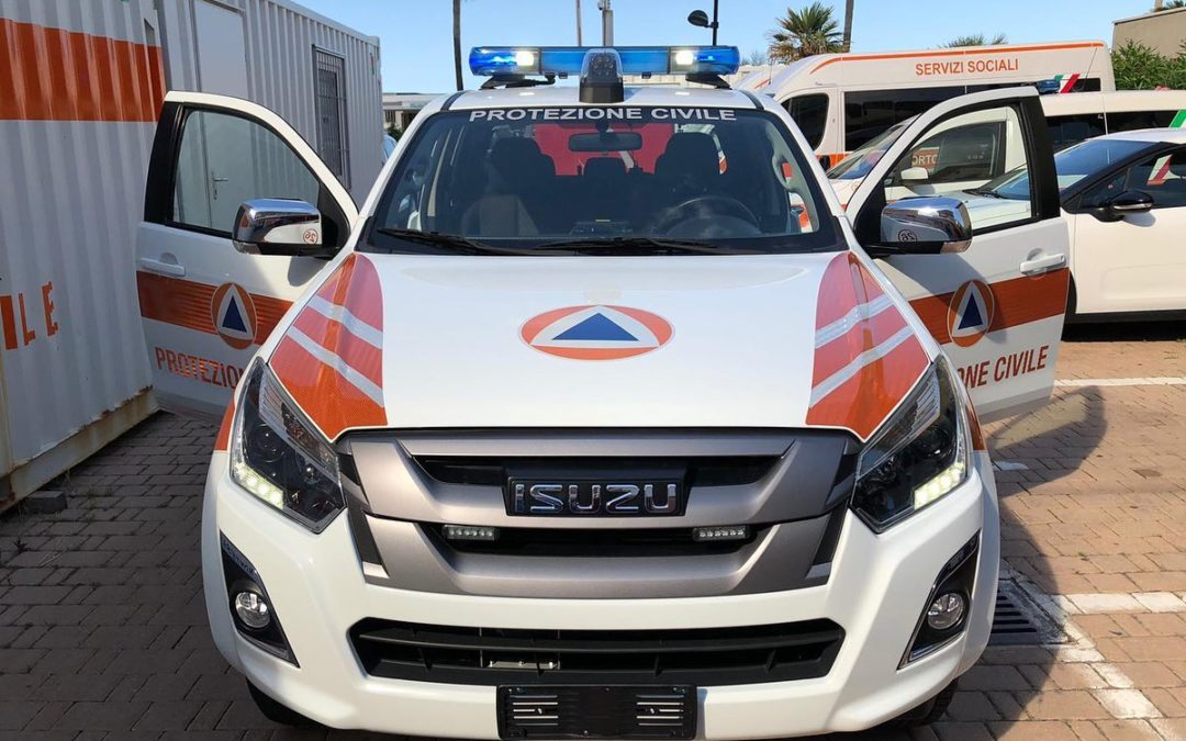 ISUZU D-MAX PROTEZIONE CIVILE MONTESILVANO